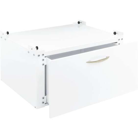 Untergestell, sehr stabil ca. 30/61/50 cm, 1 Schublade weiß Waschmaschinen SOFORT LIEFERBARE Haushaltsgeräte Ordnung