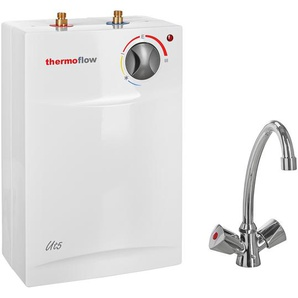 Untertischspeicher mit Armatur Thermoflow UT 5 N 2 kW
