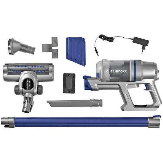 utz Akku-Bodenstaubsauger Cleanmaxx , Blau, Silber , Metall, Kunststoff , 11x23x11 cm