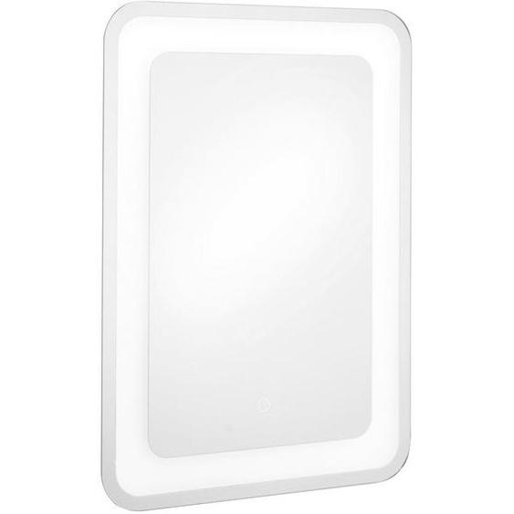 utz Badezimmerspiegel , Glas , 50x70x3.5 cm