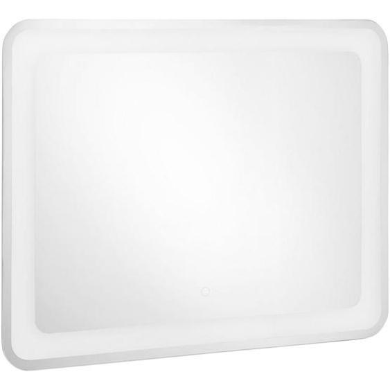 utz Badezimmerspiegel , Glas , 90x70x3.5 cm