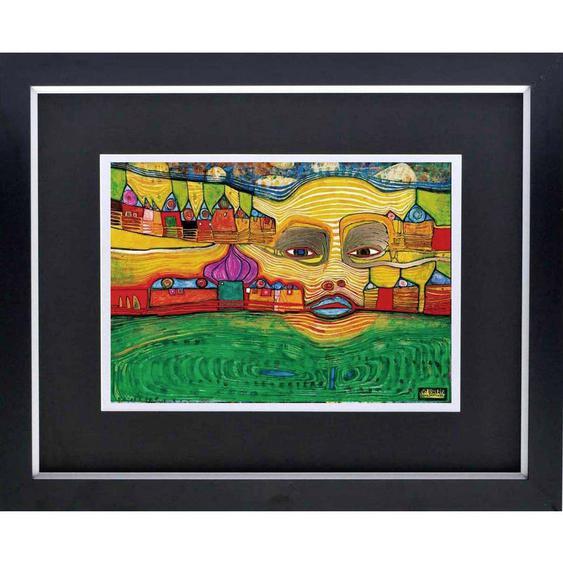 utz Bild Abstraktes , Holz , 68.5x83.5 cm