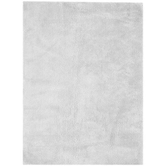 utz Hochflorteppich 160/230 cm Grau , Textil , 160x230 cm