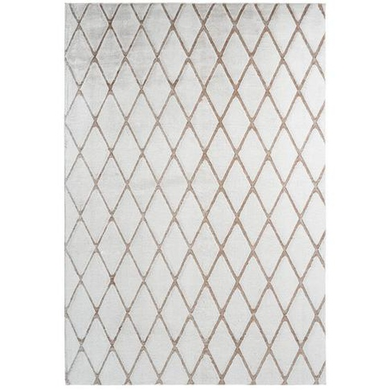 utz Hochflorteppich 160/230 cm Weiß , Textil , 160x230 cm