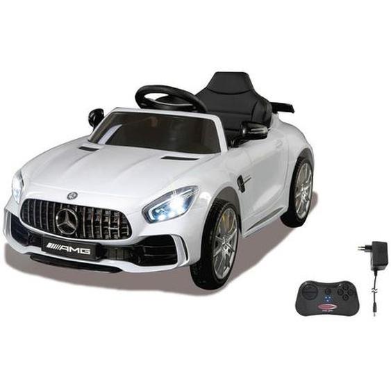 utz Kinderauto Jamara Mercedes-AMG GT R , Mehrfarbig, Weiß , Kunststoff , 56x42.5x104.5 cm