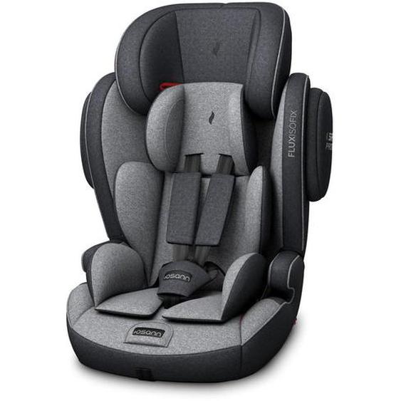 utz Kinderautositz Osann Flux Isofix Premium , Grau, Schwarz , Kunststoff , 46.5x69x46.5 cm