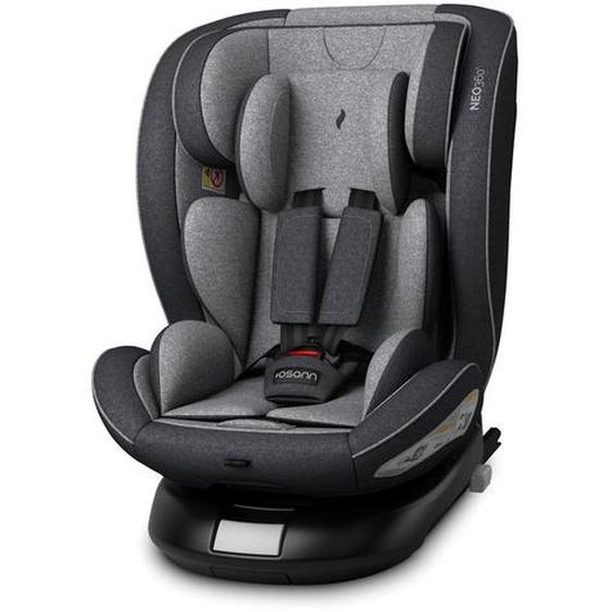 utz Kinderautositz Osann Neo360° , Grau, Schwarz , Kunststoff , 46x63.5x53 cm