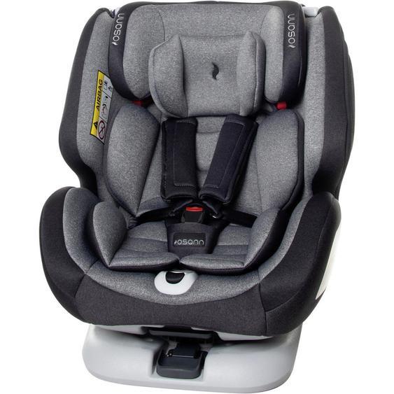 utz Kinderautositz Osann One 360 , Grau , Kunststoff , 49x58x43 cm