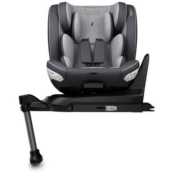 utz Kinderautositz Osann Oreo i-Size Isofix , Grau, Schwarz , Kunststoff , 46x63.5x60.5 cm