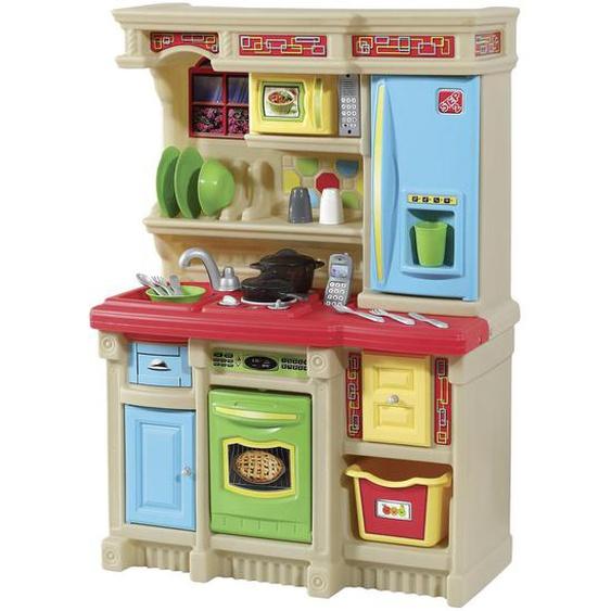 utz Kinderküche , Mehrfarbig, Beige , Kunststoff , 71.1x105.4x35.6 cm