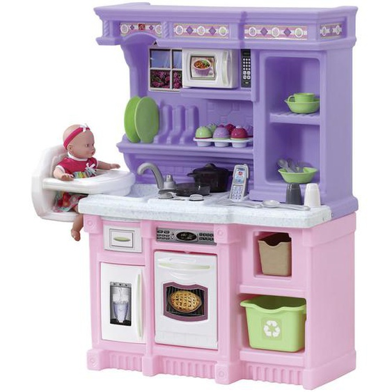 utz Kinderküche , Mehrfarbig , Kunststoff , 71.1x105.4x35.6 cm