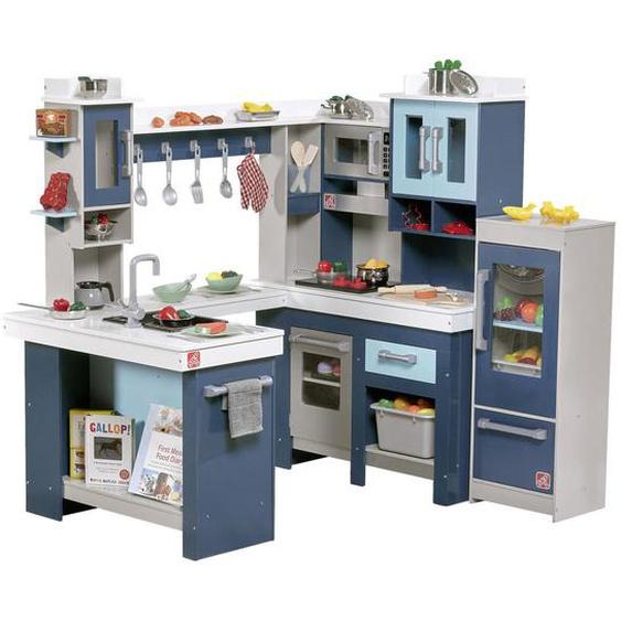 utz Kinderküche , Mehrfarbig, Weiß , Holz, Kunststoff , 127x118.7x84 cm