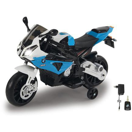 utz Kindermotorrad Jamara Motorrad BMW S1000Rr , Mehrfarbig, Weiß , Kunststoff , 48x63x109 cm
