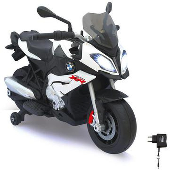 utz Kindermotorrad Jamara Motorrad BMW S1000Xr , Mehrfarbig, Weiß , Kunststoff , 55x68x103 cm
