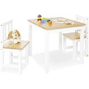 Kindersitzgruppe Pinolino Fenna , Natur, Weiß , Holz , Kiefer , vollmassiv , 51 cm , Kindersitzgruppen