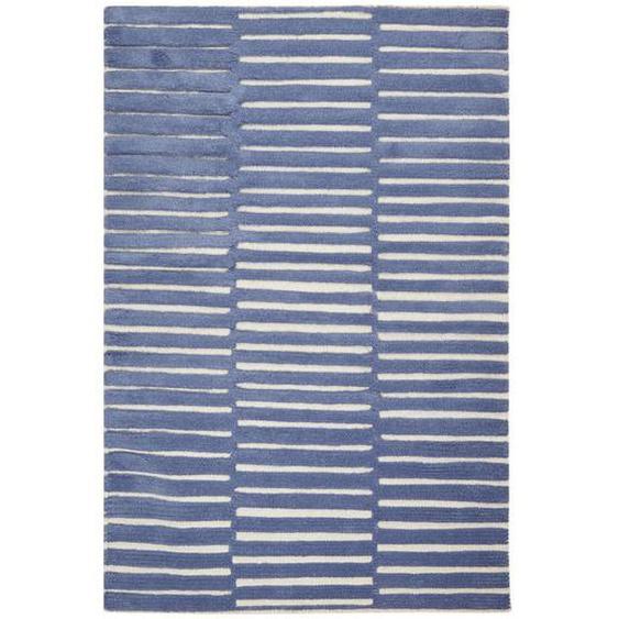 utz Kinderteppich 120/180 cm Mehrfarbig , Textil , Streifen , 120 cm