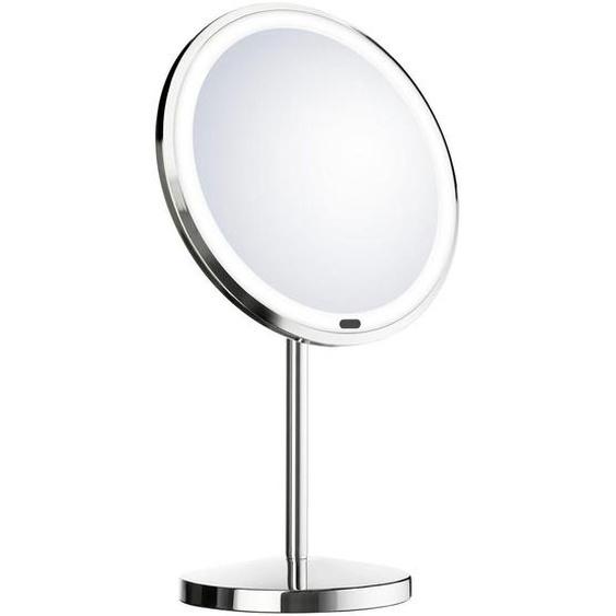 utz Kosmetikspiegel Silber , Kunststoff, Glas , 33 cm