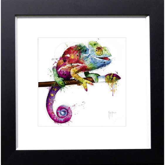 utz Kunstdruck Abstraktes , Mehrfarbig , Holzwerkstoff , 54x54 cm