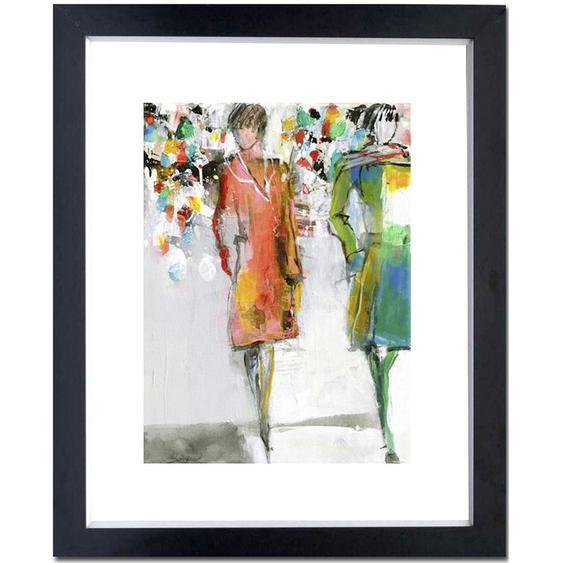 utz Kunstdruck Abstraktes , Mehrfarbig , Papier , 74x90 cm
