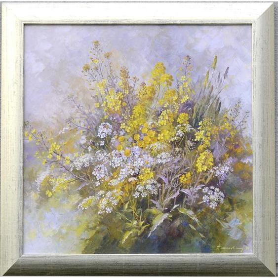 utz Kunstdruck Blumen , Mehrfarbig , Papier , 60x60 cm