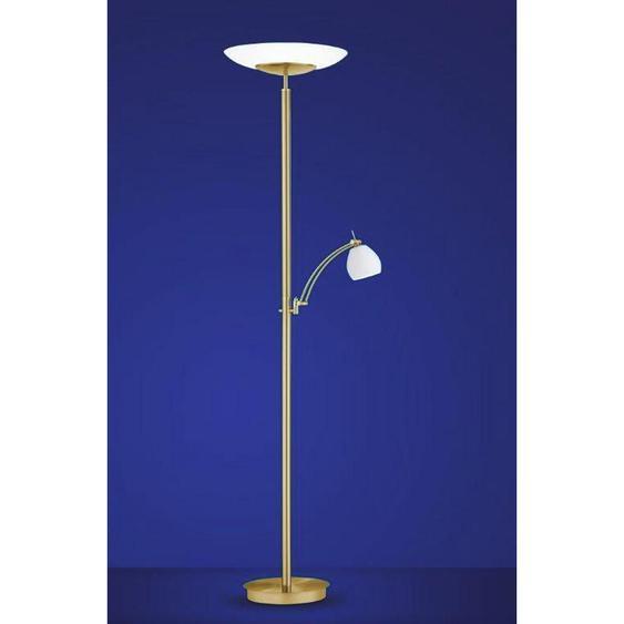 utz Led-Stehleuchte , Gold , Glas , 185 cm