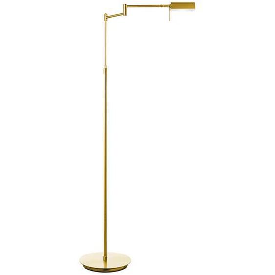 utz Led-Stehleuchte , Gold , Kunststoff , 145 cm
