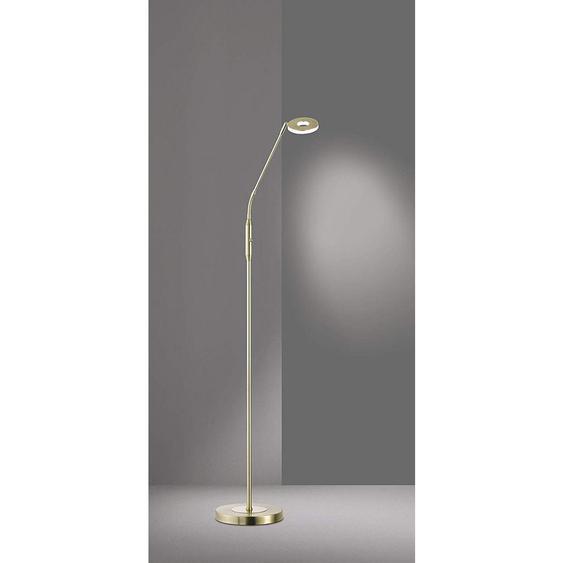 utz Led-Stehleuchte , Gold , Metall, Glas , 150 cm