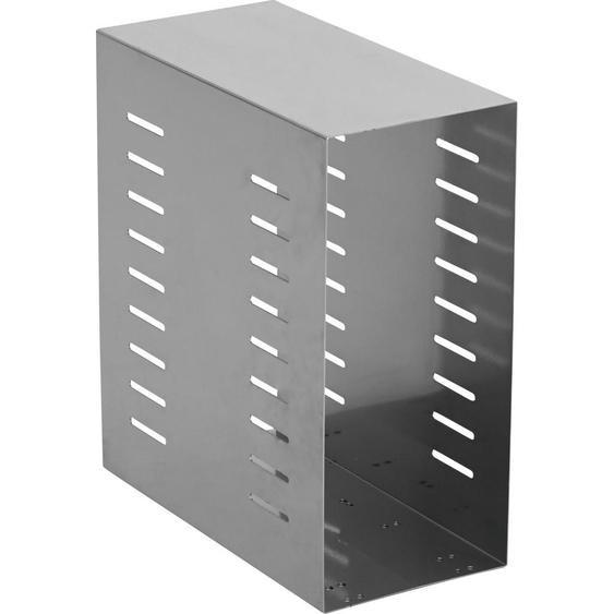 utz Pc-Halterung Metall Silber , 21x47x42 cm