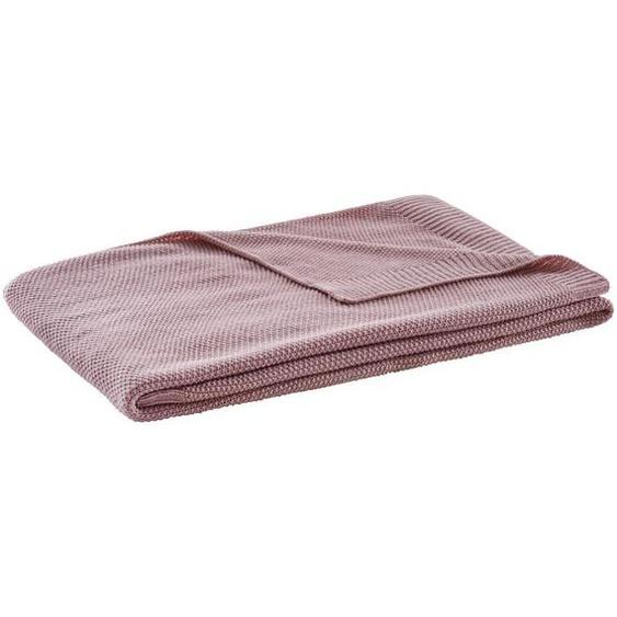 utz Plaid 140/160 cm Rosa , Textil , 140x160 cm
