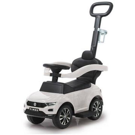 utz Rutschfahrzeug Jamara VW T-Roc , Weiß, Chrom , Kunststoff , 40x87 cm