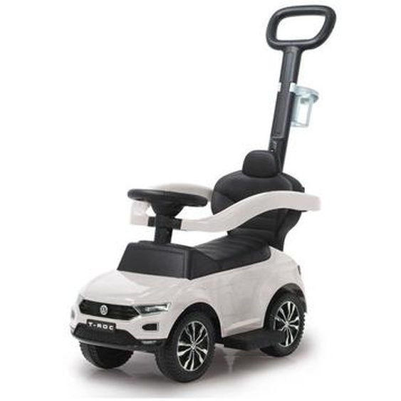 utz Rutschfahrzeug Jamara VW T-Roc , Weiß, Silber , Kunststoff , 40x87x84 cm
