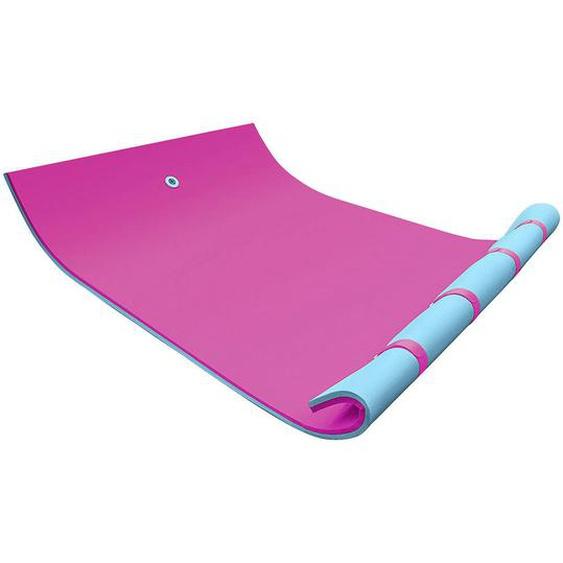 utz Schwimmteppich 270 Rosa, Türkis , Kunststoff , 180x3.5 cm