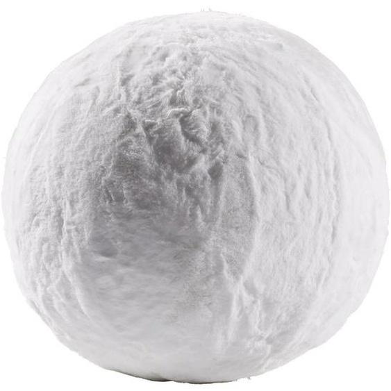 utz Sitzball Uni Weiß , Kunststoff, Textil