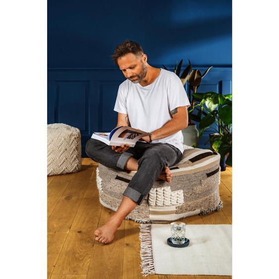utz Sitzsack Abstraktes Beige , Textil , ca.150 L , 80x45x80 cm