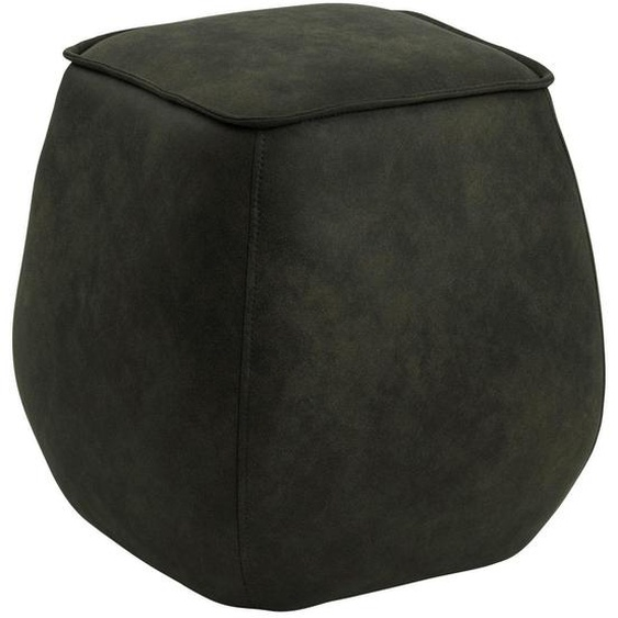 utz Sitzwürfel , Olivgrün , Textil , 40x40x40 cm