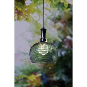 utz Solarhängeleuchte , Schwarz , Metall, Kunststoff , 53 cm