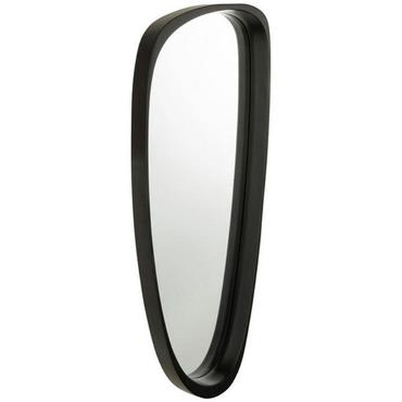 utz Spiegel Schwarz , Glas , 33x6.8 cm
