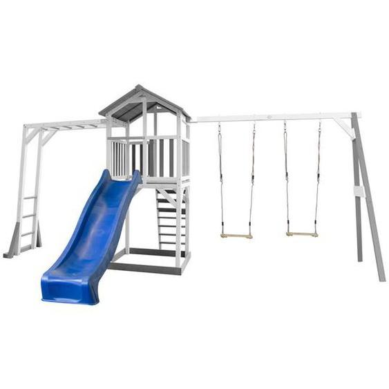utz Spielhaus Beach Tower Swing , Weiß , Holz , Zeder , 519x241.9x349 cm