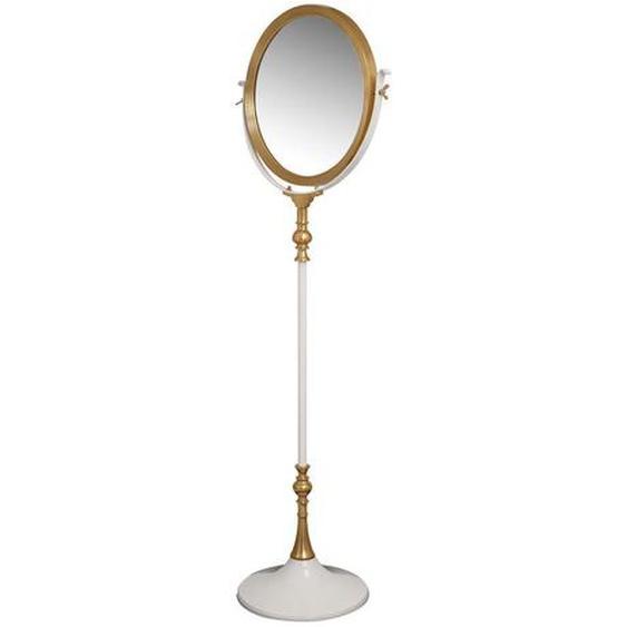utz Standspiegel , Weiß , Metall, Glas , 62x173x40 cm