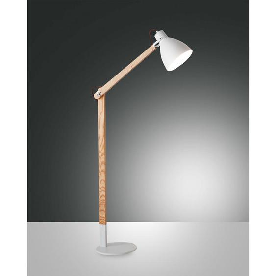 utz Stehleuchte , Weiß , Metall , 73x180 cm