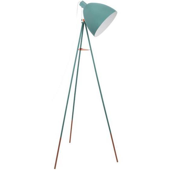 Eglo Leuchten Gmbh Stehleuchte , Grün , Metall , 60x135.5x60 cm