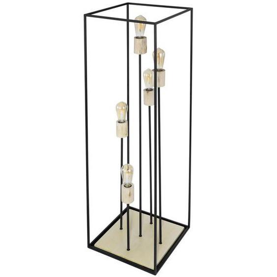 utz Stehleuchte , Mehrfarbig , Holz, Metall , 40x120 cm