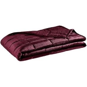 utz Tagesdecke , Rot , Textil , Uni , 180x240 cm