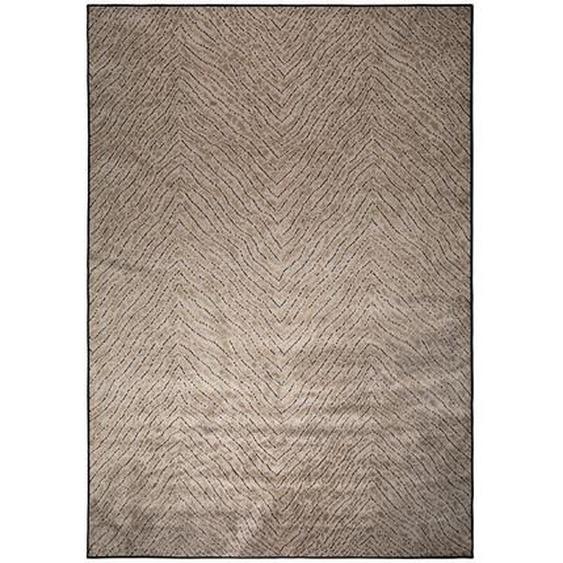 utz Teppich 170/240 cm Braun , Textil , Uni , 170 cm