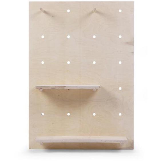 utz Wandboard Holz Buche Braun , 92x65x15 cm