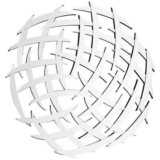 utz Wandspiegel Grau , Metall, Glas