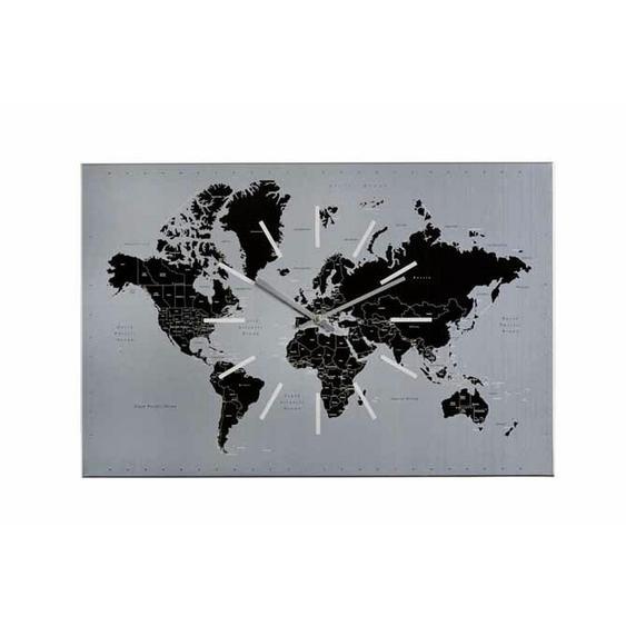 utz Wanduhr Weiß , Glas , 60x40x2 cm