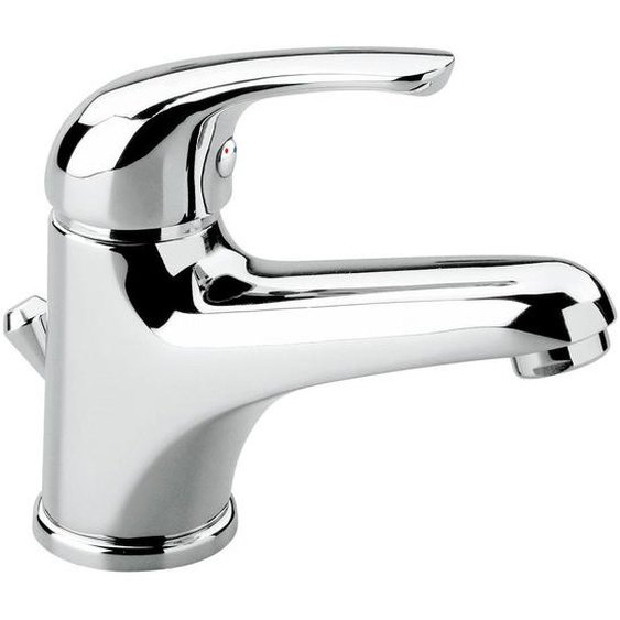 Waschtischarmatur , Chrom , Metall , 3.5x12x13 cm , flexible Anschlussschläuche , Badezimmer, Waschbecken & Armaturen, Badarmaturen