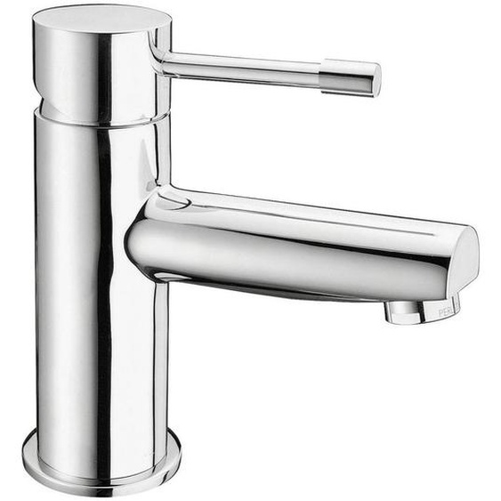 Waschtischarmatur , Chrom , Metall , 4.5x17x15.5 cm , flexible Anschlussschläuche , Badezimmer, Waschbecken & Armaturen, Badarmaturen