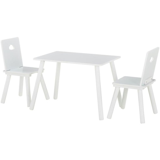 Uups Kindersitzgruppe  Wolke - weiß   Möbel Kraft